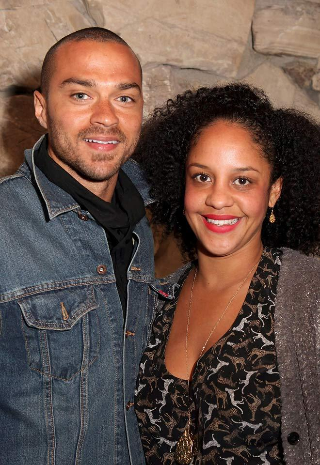 Jesse Williams and Aryn Drake-Lee (Getty Images)