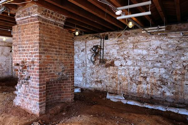 This room, part of the South Dependency of Monticello is going to be restored as the residence of Sally Hemings. Monticello is currently working to more fully integrate the stories of the enslaved at the historic plantation, Tuesday February 6, 2017. Norm Shafer / The Washington Post/Getty Images