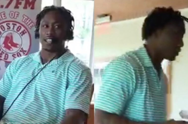 Brandon Marshall Walks Off Radio Interview