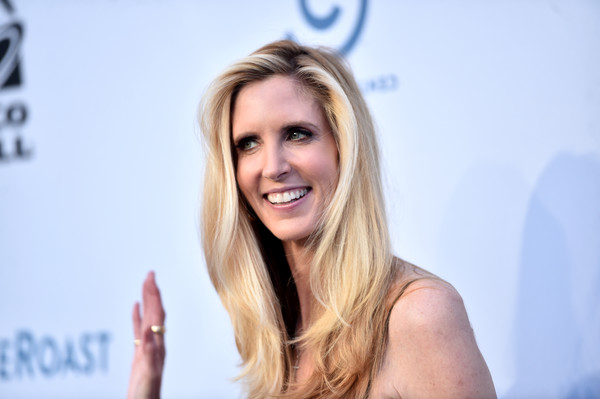 Political commentator and author Ann Coulter attends The Comedy Central Roast of Rob Lowe at Sony Studios on August 27, 2016 in Los Angeles, California.