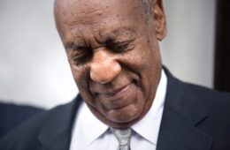 Actor and comedian Bill Cosby leaves the Montgomery County Courthouse on June 17, 2017 in Norristown, Pennsylvania. After 52 hours of deliberation, a mistrial was announced in Cosby's sexual assault trial.