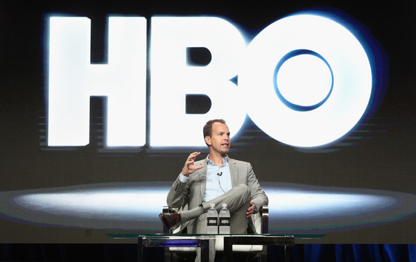 President HBO Programming Casey Bloys speaks onstage during the HBO portion of the 2017 Summer Television Critics Association Press Tour at The Beverly Hilton Hotel on July 26, 2017 in Beverly Hills, California.