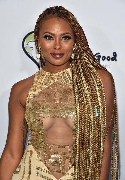 Host Eva Marcille attends the 2017 BET International Awards Presentation at Microsoft Theater on June 24, 2017 in Los Angeles, California.