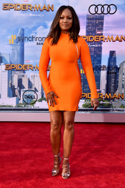 "Garcelle Beauvais attends the premiere of Columbia Pictures' ""Spider-Man: Homecoming"" at TCL Chinese Theatre on June 28, 2017 in Hollywood, California."