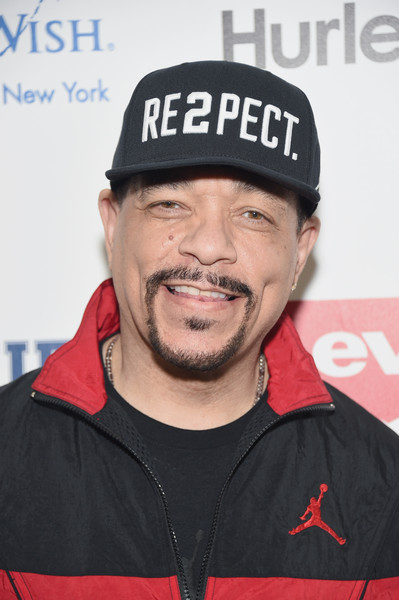 Ice-T poses backstage at the Rookie USA fashion show during New York Fashion Week: The Shows at Gallery 3, Skylight Clarkson Sq on February 15, 2017 in New York City.