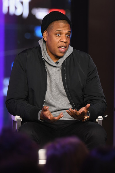 Jay Z speaks onstage during TIME AND PUNISHMENT: A Town Hall Discussion with JAY Z and Harvey Weinstein on Spike TV at MTV Studios on March 8, 2017 in New York City.