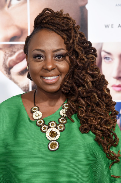 "Songwriter Ledisi attends the ""Collateral Beauty"" World Premiere at Frederick P. Rose Hall, Jazz at Lincoln Center on December 12, 2016 in New York City."