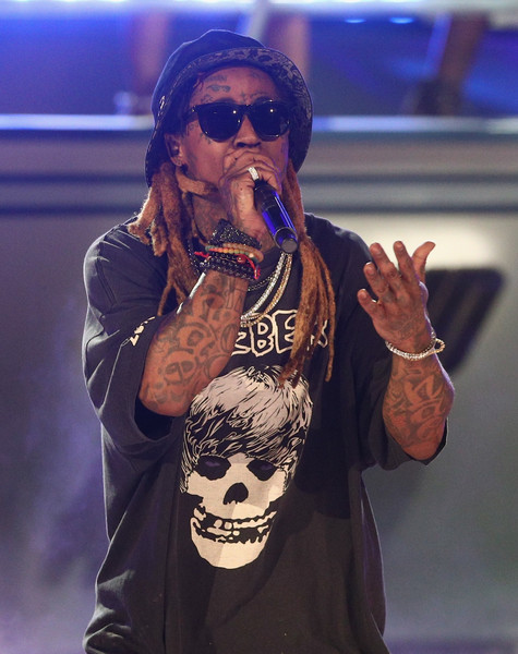 Lil Wayne performs onstage at 2017 BET Awards at Microsoft Theater on June 25, 2017 in Los Angeles, California.