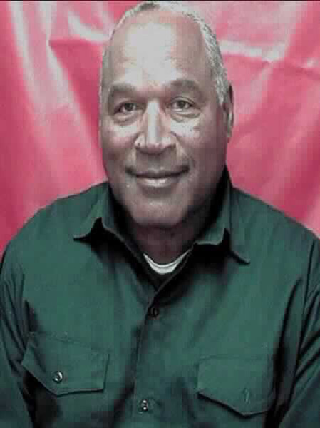 In this handout photo provided by the Nevada Department of Corrections, former football player O.J. Simpson, 68, is seen in an updated Nevada Department of Corrections booking photo released June 6, 2016 in Lovelock, Nevada.