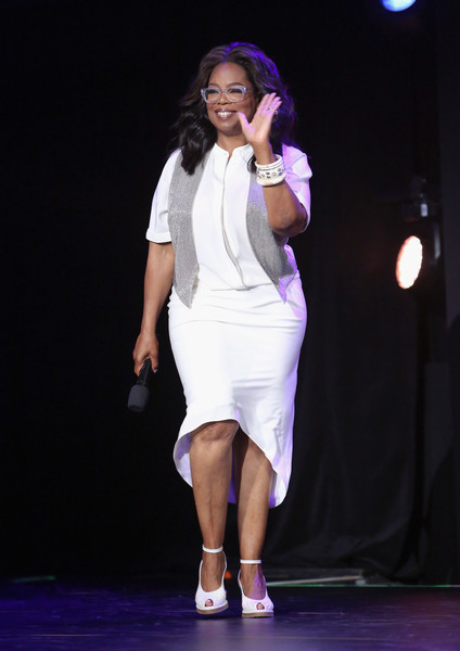 Actor Oprah Winfrey of A WRINKLE IN TIME took part today in the Walt Disney Studios live action presentation at Disney's D23 EXPO 2017 in Anaheim, Calif. A WRINKLE IN TIME will be released in U.S. theaters on March 9, 2018.