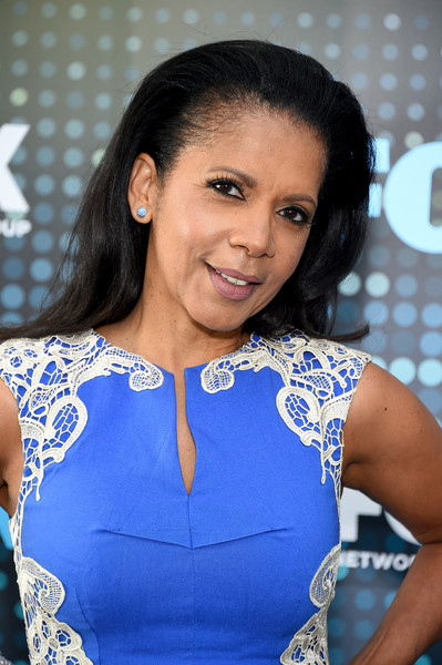 Penny Johnson Jerald attends the 2017 FOX Upfront at Wollman Rink, Central Park on May 15, 2017 in New York City.