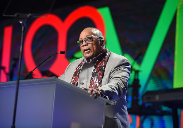 Quincy Jones attends the 24th Annual Race To Erase MS Gala at The Beverly Hilton Hotel on May 5, 2017 in Beverly Hills, California.