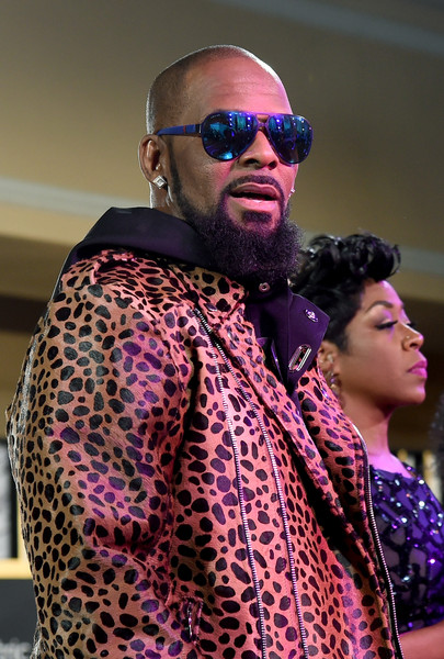 Recording artist R. Kelly performs onstage during the 2015 Soul Train Music Awards pre-show at the Orleans Arena on November 6, 2015 in Las Vegas, Nevada.