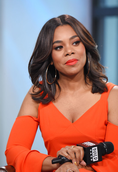 """Actress Regina Hall visits the Build Series to discuss the movie """"Girls Trip"""" at Build Studio on July 17, 2017 in New York City."""