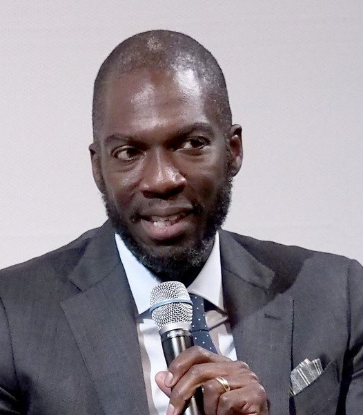 """Director Rick Famuyiwa speaks onstage at the NYC Special Screening of HBO Film """"Confirmation"""" at Signature Theater on April 7, 2016 in New York City."""