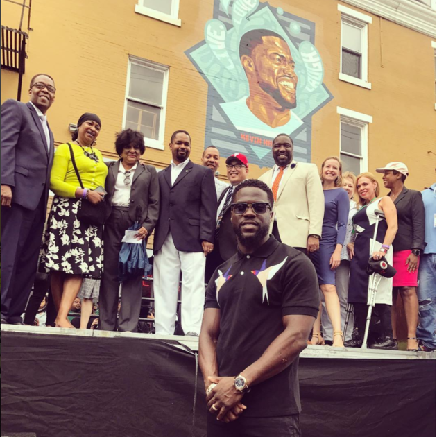 Kevin Hart Day in Philly (July 6, 2017)