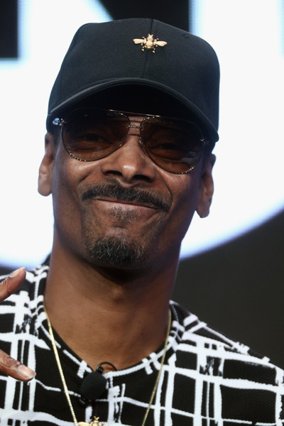 Snoop Dogg of 'TBS & TNT/Kevin Reilly Executive Session' speaks onstage during the Turner Networks portion of the 2017 Summer Television Critics Association Press Tour at The Beverly Hilton Hotel on July 27, 2017 in Beverly Hills, California.