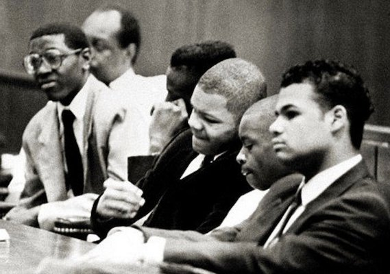 The Central Park Five on trial