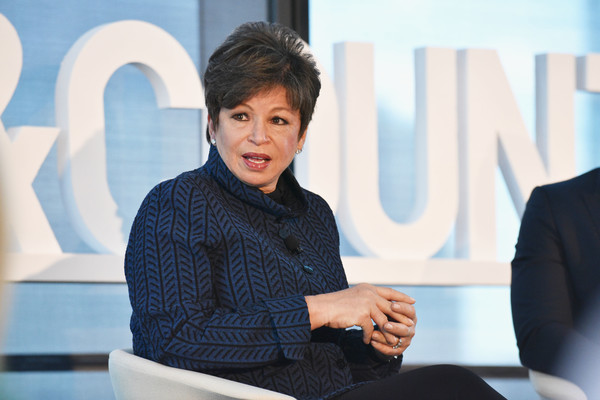 Lawyer & Civic Leader Valerie Jarrett speaks onstage during the 4th Annual Town & Country Philanthropy Summit at Hearst Tower on May 9, 2017 in New York City.