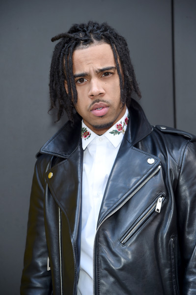 Vic Mensa attends the Marc Jacobs Fall 2017 Show at Park Avenue Armory on February 16, 2017 in New York City.