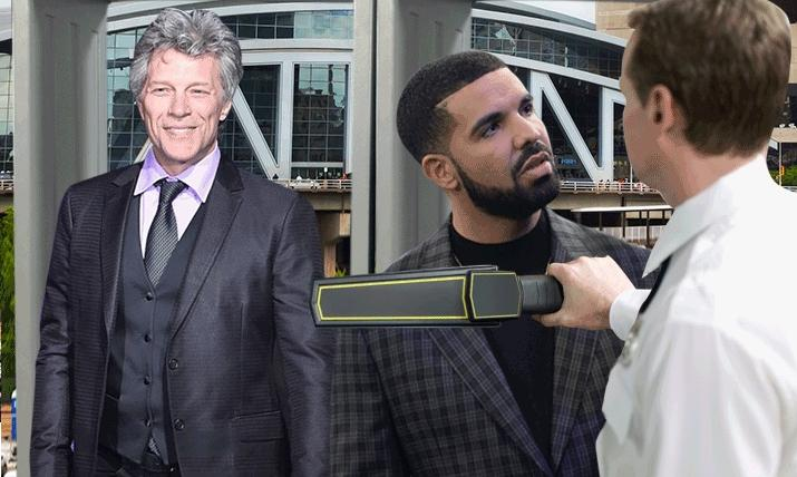 bon jovi & drake (being wanned)