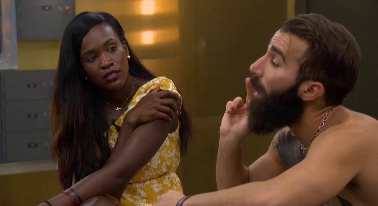 Dominique and Paul at BB19