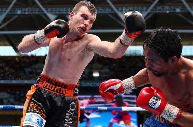 jeff horn & manny pacquiao (in ring)