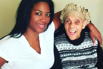 kenya moore & grandmother