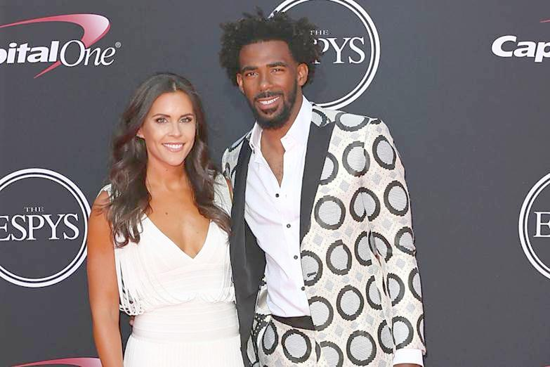 mike conley & wife