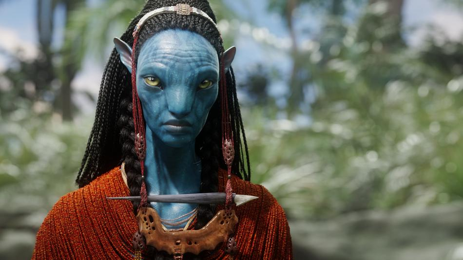 """CCH Pounder's """"Avatar"""" character, Mo'at"""