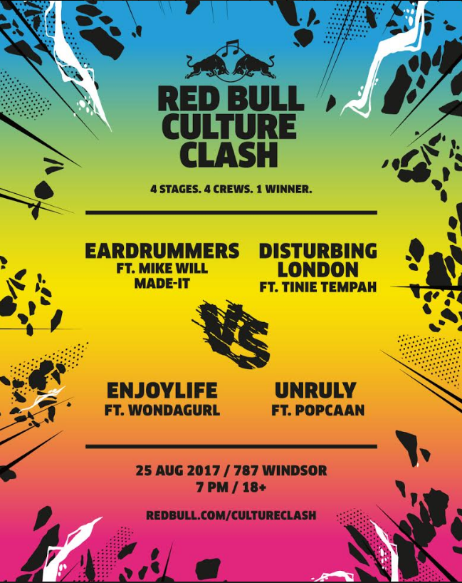 culture clash, mike will made-it, red bull