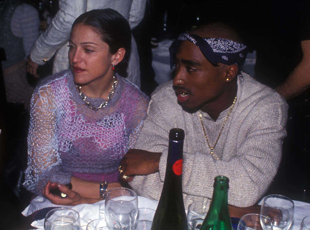 Madonna and Tupac (Getty Images)