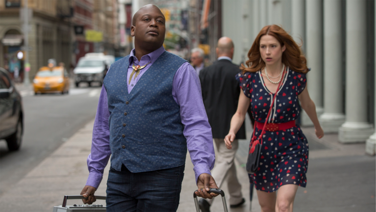 'Unbreakable Kimmy Schmidt' Ellie Kemper and Tituss Burgess
