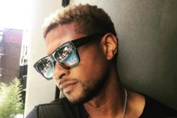 usher (large shades)