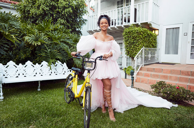 Rihanna Is Delivering Scholarships and Bikes to Malawian Girls