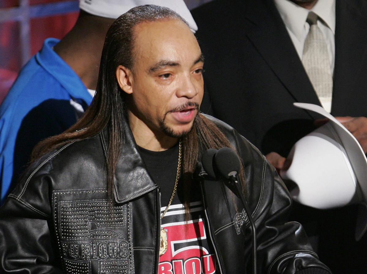 Nathanial Glover, aka Kidd Creole of Grandmaster Flash and the Furious Five