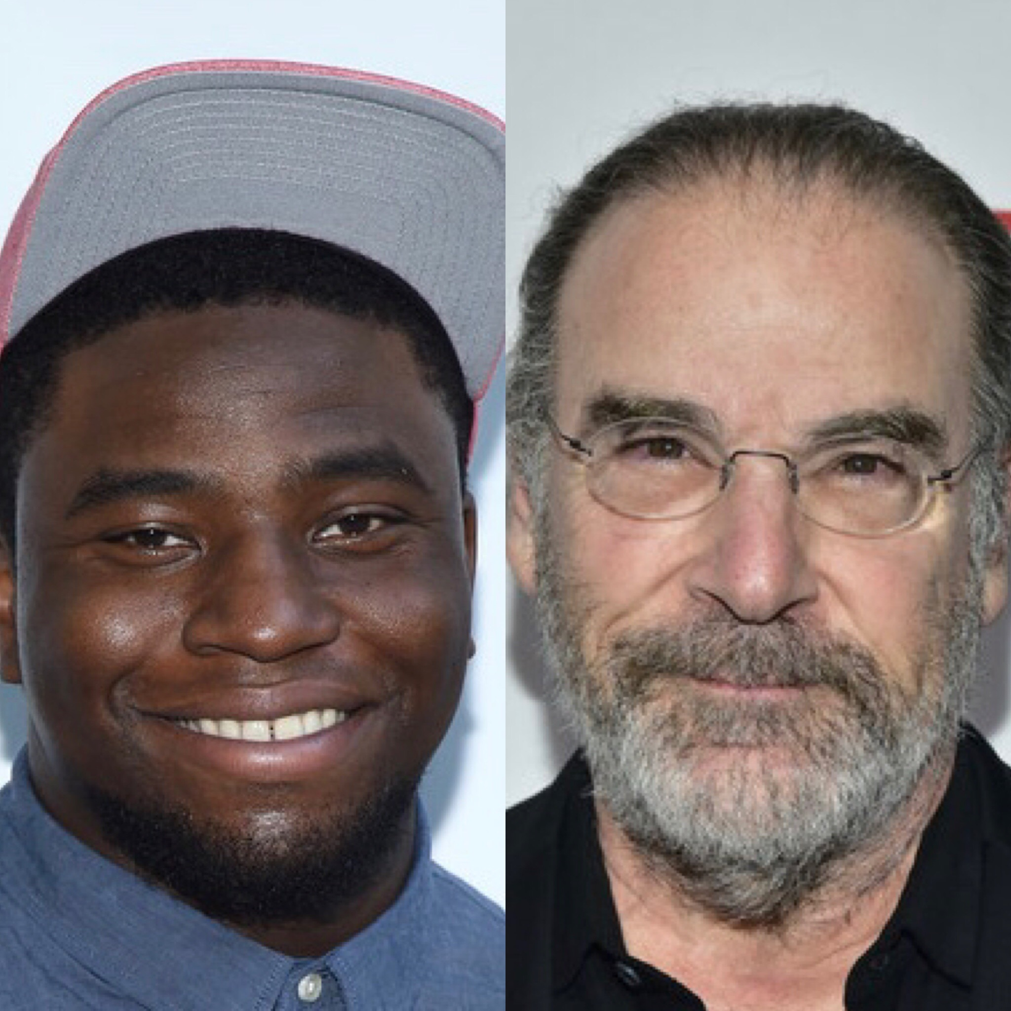 Okieriete Onaodowan (L) and Mandy Patinkin (Getty Images)