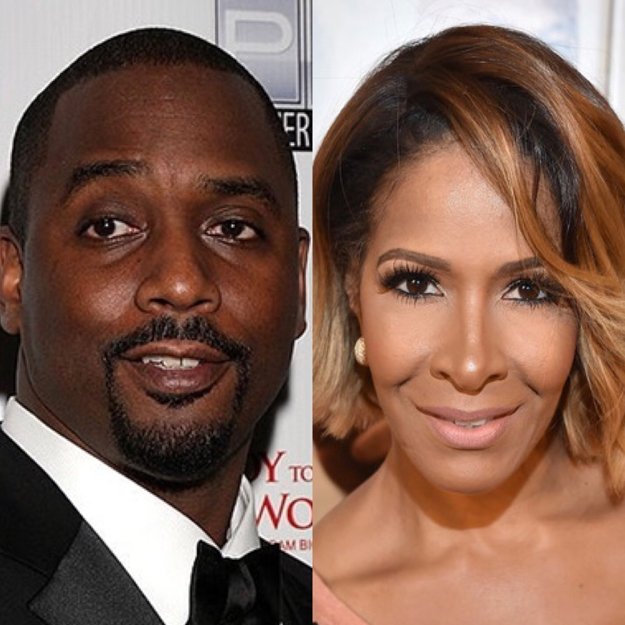 Tyrone Gilliams and Sheree Whitfield