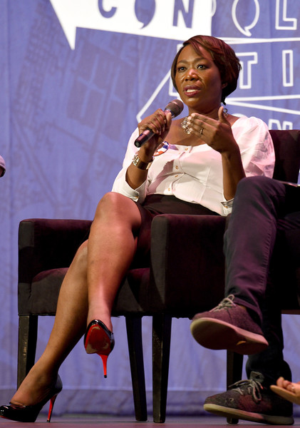 Joy Ann-Reid at the 'Pod Save America' panel during Politicon at Pasadena Convention Center on July 29, 2017 in Pasadena, California.