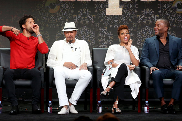 Actor Jussie Smollett of 'Empire' speaks onstage during the FOX portion of the 2017 Summer Television Critics Association Press Tour at The Beverly Hilton Hotel on August 8, 2017 in Beverly Hills, California.