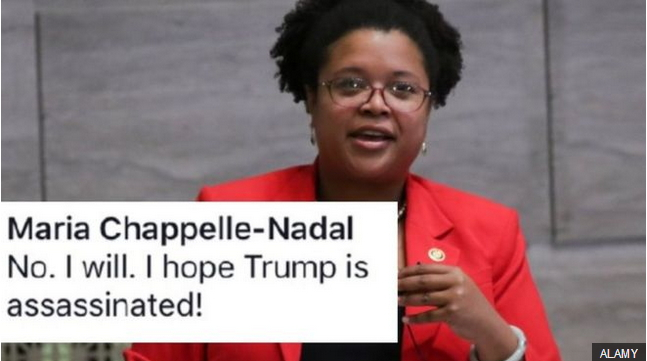 Maria Chappelle-Nadal - i hope trump is assassinated