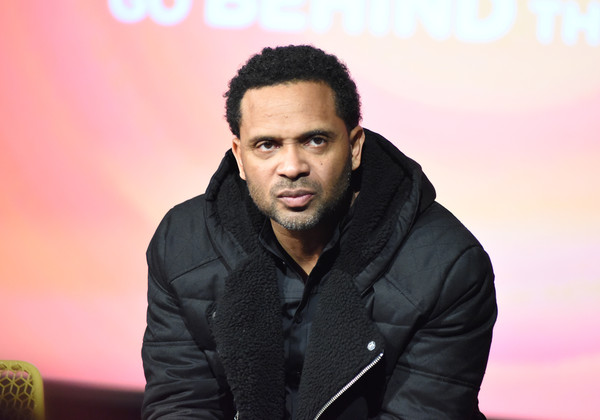 """Actor Mike Epps speaks on stage during """"Uncle Buck"""" event during aTVfest 2016 presented by SCAD on February 7, 2016 in Atlanta, Georgia."""