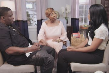 "Iyanla Vanzant with rapper Turk and his wife Erica on ""Iyanla, Fix My Life"" (OWN)"