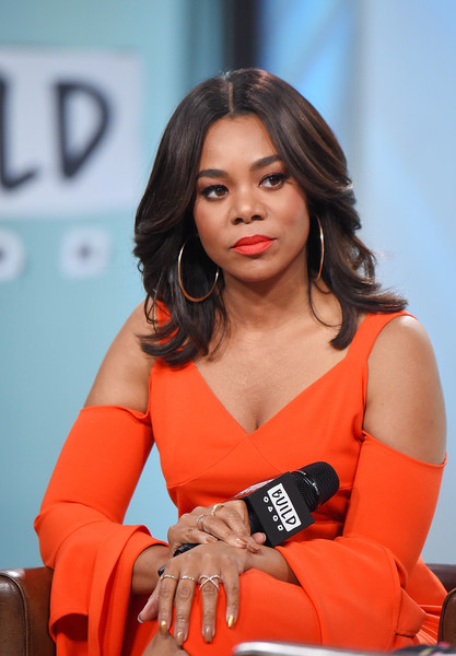 "Actress Regina Hall visits the Build Series to discuss the movie ""Girls Trip"" at Build Studio on July 17, 2017 in New York City."