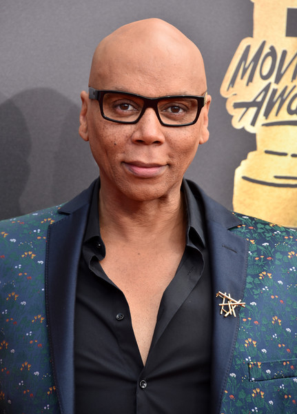 TV personality RuPaul attends the 2017 MTV Movie And TV Awards at The Shrine Auditorium on May 7, 2017 in Los Angeles, California.