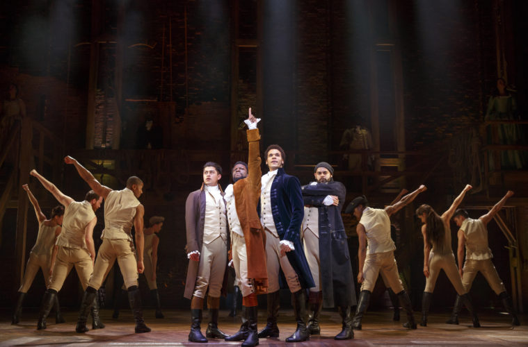 'Hamilton' starts previews at Pantages; contest giving away $10 tickets