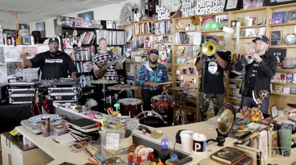 "DJ Premier and Badder Band rock NPR's ""Tiny Desk"" series (Aug 21, 2017)"