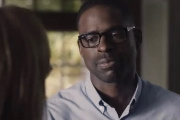 "Mandy Moore and Sterling K. Brown in ""This Is Us"" (S2,Ep1) - NBC"