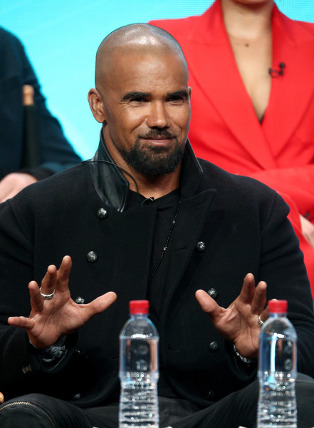 Actor Shemar Moore of 'S.W.A.T.' speaks onstage during the CBS portion of the 2017 Summer Television Critics Association Press Tour at The Beverly Hilton Hotel on August 1, 2017 in Los Angeles, California.