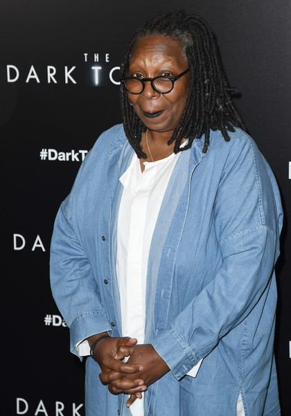 "Whoopi Goldberg attends the special screening of Columbia Pictures and MRC ""The Dark Tower"" at the Museum of Modern Art on July 31, 2017 in New York. / AFP PHOTO / ANGELA WEISS"